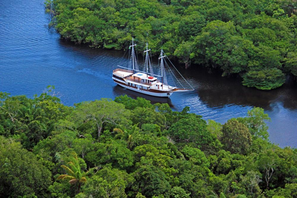 Croisière sur l'Amazone depuis Manaus